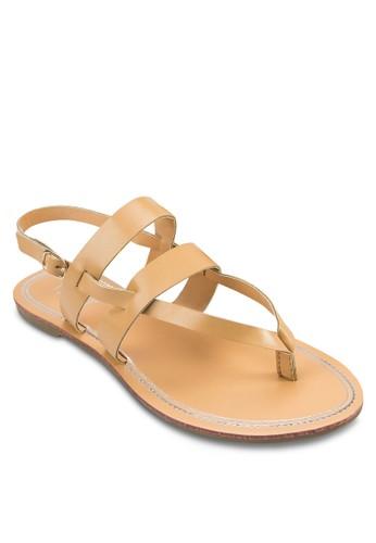 Anna 多帶繞踝涼鞋, 女鞋zalora taiwan 時尚購物網, 涼鞋