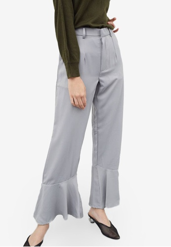 Berrybenka grey Franchille Pants BE9F9AA082CA8CGS_1