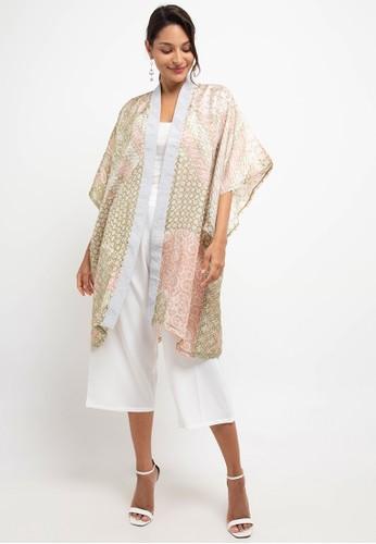 bhatara batik green and brown Prisha Set E8B67AAFA62201GS_1