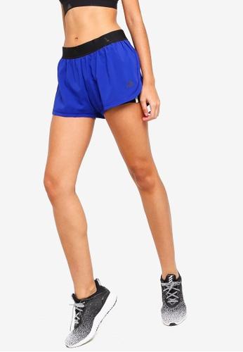 adidas blue adidas 2in1 shorts w 3s 64D22AAD052CDEGS_1