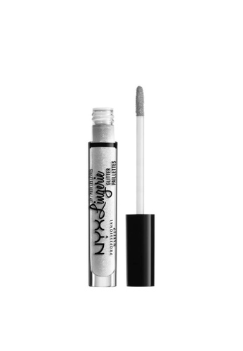 NYX Professional Makeup white NYX Professional Makeup Lip Lingerie Glitter - LLGLI01 CLEAR 61A63BEF8AE7A4GS_1