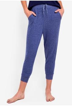 Cotton On Body blue Super Soft Cropped Slim Fit Pants CEC09AA8B5B9C8GS 1 3d792ed78
