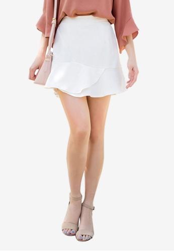 Tokichoi white Frill Detail Skirt 4EEA8AA4912F71GS_1