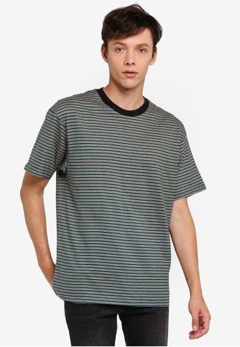 Cotton On 多色 短袖條紋T恤 AF0D0AA50B32E3GS_1