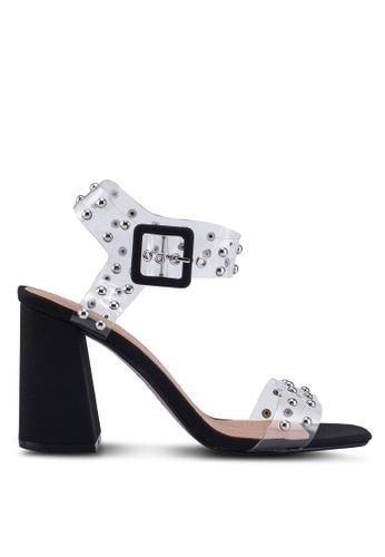 e41e426e9e Buy TOPSHOP Strike Black Stud Sandals Online on ZALORA Singapore