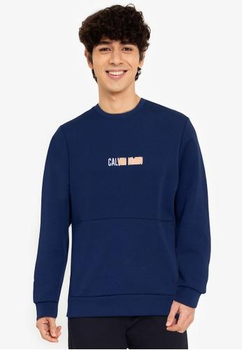 Calvin Klein multi Calvin Klein Performance Modern Small Logo Pullover D47EEAAED23E0AGS_1