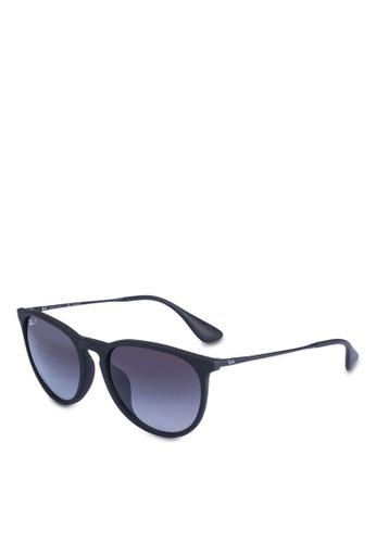 Ray-Ban grey Ray-Ban Erika Classic RB4171F Sunglasses C1370GLD4DACEDGS_1