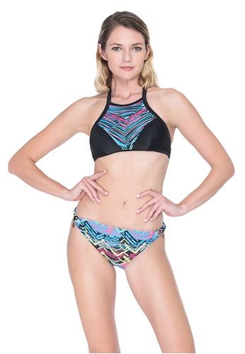 Sunseeker black Neon Ikat 2 Pieces Bikini Set 175D6US5FF59FBGS_1