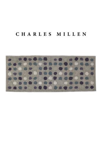 Charles Millen SET OF 2 Charles Millen BR-461 ( L )  Polka Dot Tufted Mat/ Bath Mat Mat 50 x 120cm 1.028kg 395A7HL509A821GS_1