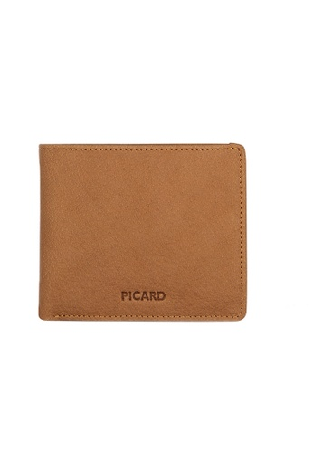 Picard brown Picard Buffalo Bifold Wallet PI517AC0HATNSG_1
