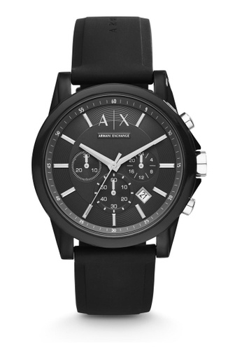 Armani Exchange black Armani Exchange Outerbanks Watch AX1326 67AE0AC28090D7GS_1