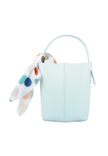 RO Bags green RO Terranova Felucca Mini Top Handle Bucket Bag in Mint Green/Spring Green 78993AC56CA942GS_1