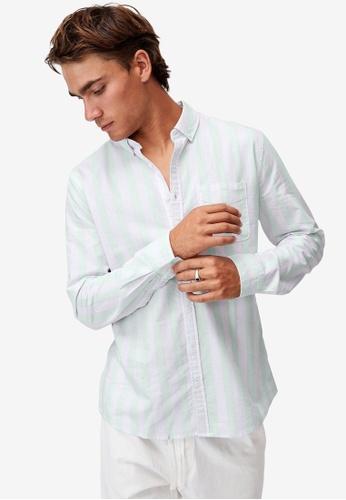 Cotton On white Brunswick Shirt 3 493A5AA774C3CDGS_1