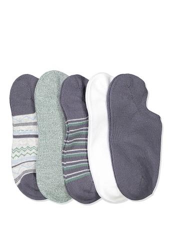 Rubi blue 5Pk Sports Low Cut Sock F8FC1AAD7DE945GS_1