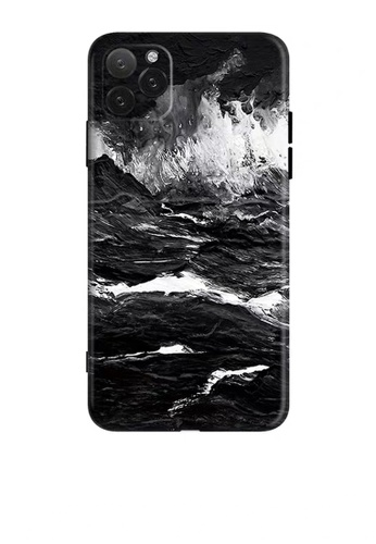 HAPPY FRIDAYS Oil Painting Black IPhone Protective Printed Case DM04 8AB16AC973A15CGS_1
