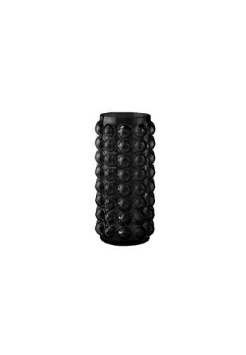 DILAS HOME Bubble Glass Vase (Black) - Tall Small 52386HL85E1551GS_1