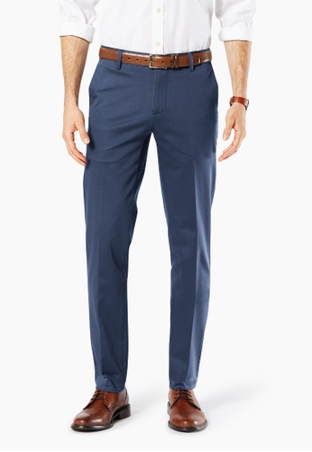 Dockers navy Dockers Ultimate Iron Free Extra Slim Pants Montecito Blue ADEB4AA80D6954GS_1