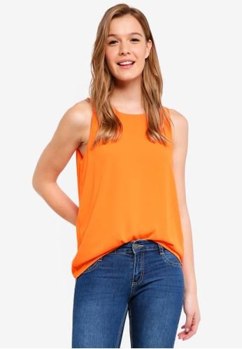 Cotton On orange Olivia Tank EBE1EAAA290768GS_1