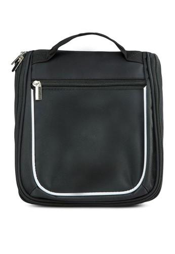 拉zalora 順豐鍊手提旅行袋, 包, 旅行包