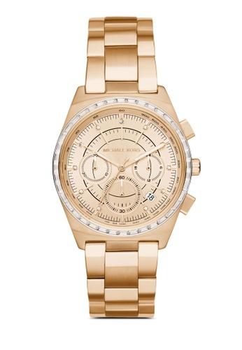 MICHAEL KORS gold Michael Kors Vail Gold Stainless Steel Watch MK6421 MI165AC53LXUMY_1