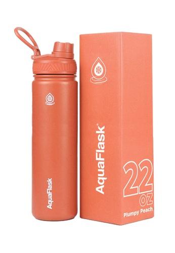 Aquaflask orange 22oz Wide Mouth Water Bottle 31946ACD49956CGS_1
