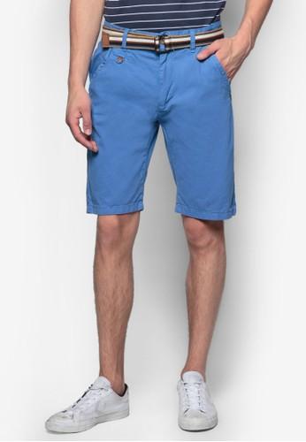 Resprit hk storeoyce 腰帶休閒短褲, 服飾, 短褲
