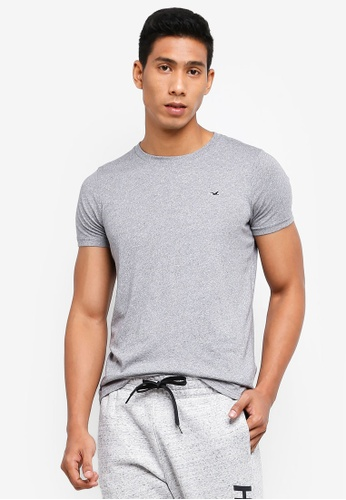 ecee0d52c1 Buy Hollister Short Sleeve Muscle Fit T-Shirt Online on ZALORA Singapore
