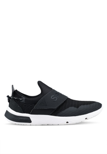 Sperry black Sperry 7 Seas Slip On Active Sneakers SP132SH0SXAMMY_1