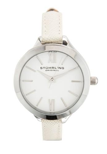 Stuhrlinesprit 內衣g Original 975.01 Vogue 暗紋皮革細帶女錶, 錶類, 飾品配件