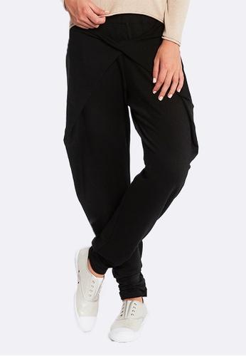 Deshabille black Halston Pants DE081US0HC6WSG_1