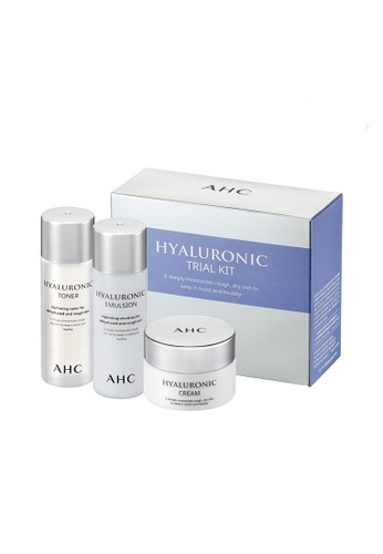 AHC AHC Hyaluronic Trial Kit(3 items) (Cream + Emulsion + Toner) 466CFBE0F91D32GS_1