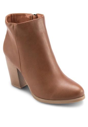 高跟切爾西低筒靴, 女鞋, 靴esprit台灣官網子