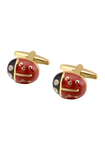 Kings Collection gold Insect Cufflinks A54E5AC8079B41GS_1