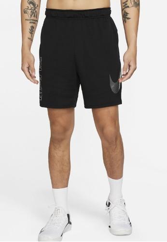 Nike black As M Nk Df Knit Sc Short Enrgy BC664AA8436A49GS_1