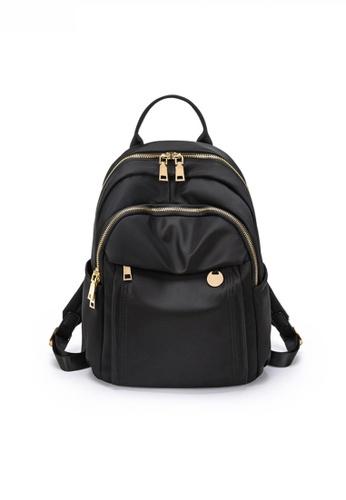 Twenty Eight Shoes black Multi Purpose Chic Nylon Oxford Backpack JW CL-C5228 FAEBBACD3A5576GS_1