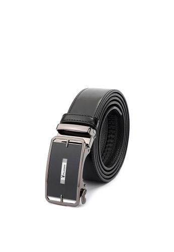 Playboy black 35mm Genuine Leather Auto Belt 7371FACBAEBB85GS_1