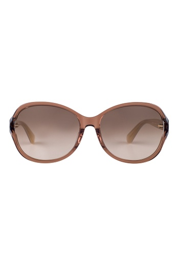 Kate Spade brown Kate Spade Amethyst Brown Sunglasses WR9HA KA433AC62JSNMY_1