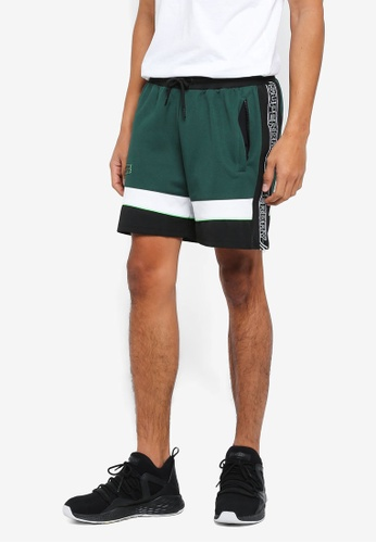 Superdry green Sd Tricot Taped Track Shorts AE3E7AA1B1C010GS_1