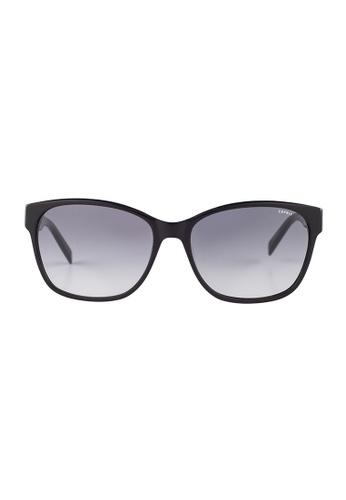 ESPRIT ESPRIT Wayfarer Black Sunglasses ET17904 ES374AC65GAGMY_1