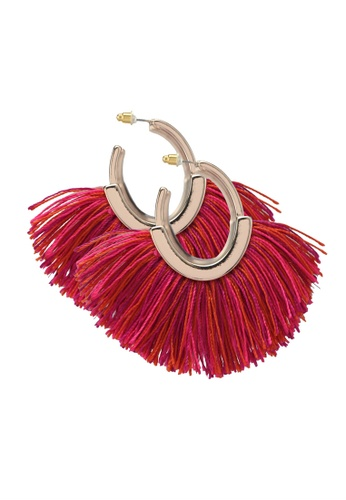 Mango pink Fringe Earrings 1DD82AC4738598GS_1