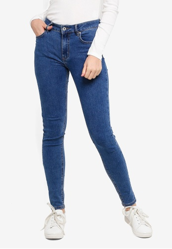 Factorie blue The Skinny Mid Rise Jeans 99CBAAA2A3E09CGS_1