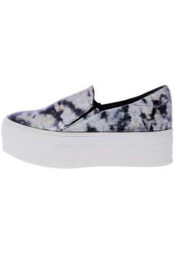 Maxstar C7 50 Synthetic Leather White Platform Slip on Sneakers US Women Size MA168SH50DYJHK_1