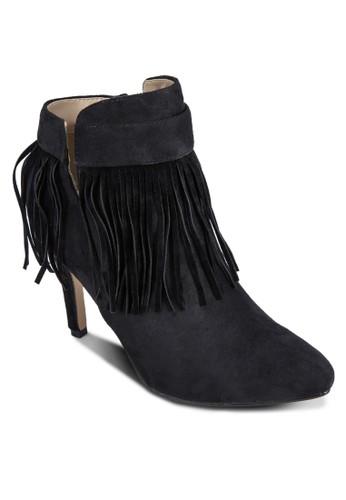 流蘇高跟靴, 女鞋,zalora退貨 鞋