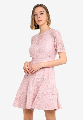 Violet Lace Dress