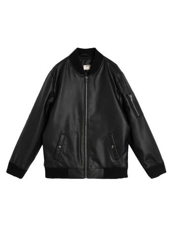 KOTON black Jackets For Kids Boy 95FDEKA60A7CD8GS_1