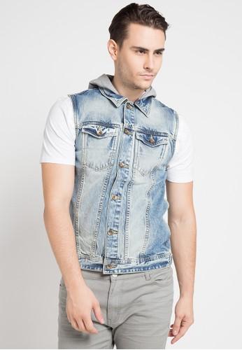 En liquidation nouveau pas cher styles classiques Vest Jacket Denim