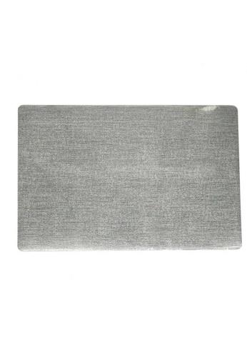 Maison Curio Silver High Quality Waterproof Wear-Resistant PVC Devon Placemat. 7FB9AHL7D32348GS_1