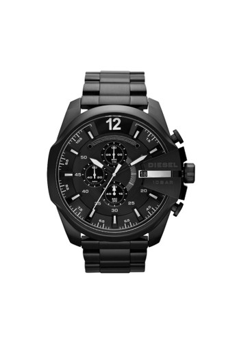 Mega Chief三眼計時腕錶 DZ4283, 錶類, 時esprit 羽絨外套尚型