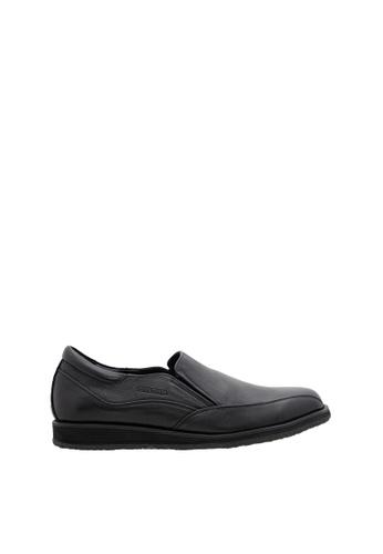 SEMBONIA black Men Leather Business Shoe 63DB5SH76C3153GS_1
