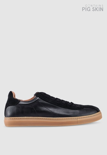 Selected Homme black Dean Classic Trainers C81CBSH66DD058GS_1